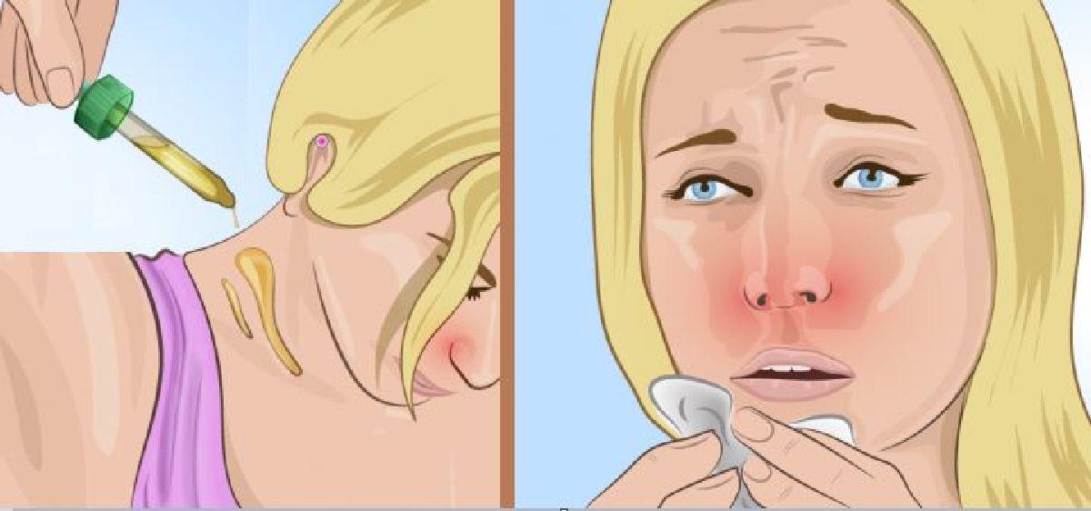 Lorsque vous souffrez d'un rhume, frottez ceci sur votre